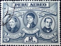Peru - 1951 - Mi:PE 511, Sn:PE C113, Yt:PE PA102 O - Look Scan - Peru