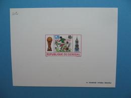 Sénégal épreuve De Luxe N° 402  Sport  Football Australie Allemagne 1974  Neuf ** à Voir - Senegal (1960-...)