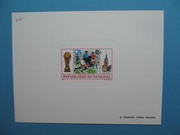 Sénégal épreuve De Luxe N° 403  Sport  Football Pays-Bas Uruguay 1974 Neuf ** à Voir - Senegal (1960-...)