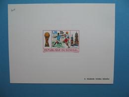 Sénégal épreuve De Luxe N° 404   Sport  Football Zaïre Italie 1974 Neuf ** à Voir - Senegal (1960-...)