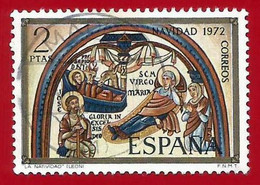 España. Spain. 1972. Edifil # 2115. Navidad. Basilica De San Isidoro. Leon - 1971-80 Used