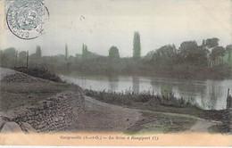 78 - GARGENVILLE : La Seine à RANGIPORT - CPA Colorisée - Yvelines - Gargenville