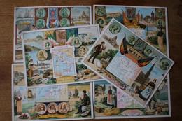 6  Images Anciennes Au Bon Marché  Les Pays Grand Format      Lot 77 - Au Bon Marché