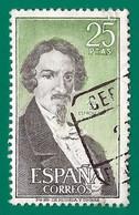 España. Spain. 1972. Edifil # 2072. Personajes. Jose De Espronceda - 1971-80 Used
