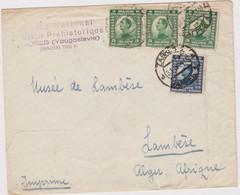 Yugoslavia 1924 Cover, National Prehistoric Museum Zagreb To  Lambese Museum - Lots & Kiloware (mixtures) - Max. 999 Stamps