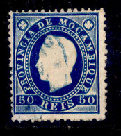 ! ! Mozambique - 1886 King Luis 50 R (Perf. 12 3/4) - Af. 20 - Used - Mosambik