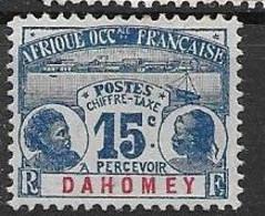 Dahomey Mint Little Gum Rests Only (*)  (9,50 Euros) - Ongebruikt