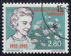 GREENLAND  Michel  159  Very Fine Used - Gebraucht