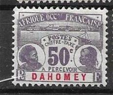 Dahomey Mh * 28 Euros 1906 - Unused Stamps