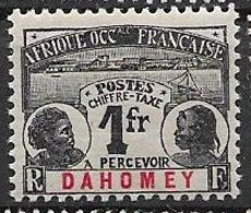 Dahomey Mh * 50 Euros 1906 - Unused Stamps