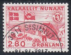 GREENLAND  Michel  163  Very Fine Used - Gebraucht