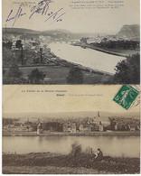 FRANCE - 6 CARTES - GIVET - 1905/ 12/ 18 - Givet