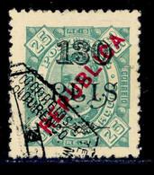 ! ! Lourenco Marques - 1914 D. Carlos OVP Local Republica 130 R (Perf. 12 3/4) - Af. 136b - Used - Lourenco Marques