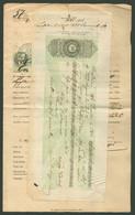 NAGYRŐCZE 1877. Váltó-óvás, Dekoratív Jogi Dokumentum, Csatolt Váltóval, Közjegyzői Bélyegzéssel - Used Stamps