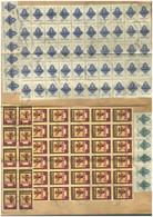 BUDAPEST 1946.03.01. Iparjogosítványi Kérelem, Dokumentum 198 Db! Inflációs Illeték Bélyeggel! - Used Stamps