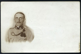 1914. Katona, Fotós Képeslap, Szép Mozgóposta Bélyegzéssel - Used Stamps