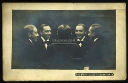 BUDAPEST 1910. Ca. HAUSER A : Fotós Képeslap, PING – PANG - Unclassified
