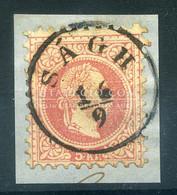 SÁGH 5 Kr Szép Bélyegzés - Used Stamps
