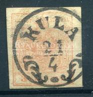 KULA 3Kr Szép Bélyegzés - Used Stamps