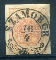 SZAMOBOR  3Kr Szép Bélyegzés - Used Stamps