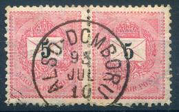 ALSÓDOMBORÚ  5Kr Pár Szép Bélyegzés - Used Stamps