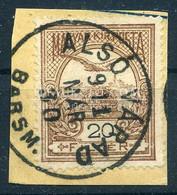 ALSÓVÁRAD Szép Egykörös  Bélyegzés - Used Stamps