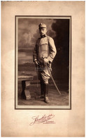 BUDAPEST 1910-20 Ca. Katona Portré Régi Fotó 20*13 Cm - War, Military