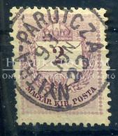 NYITRAPÁRUCZA 2 Kr Szép Bélyegzés - Used Stamps