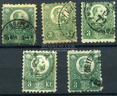 3 Kr Kis Tétel - Used Stamps