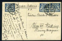 DANZIG 1923. 4 Db Küldemény, Szép Tétel! - Danzig