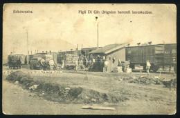 BÉKÉSCSABA 1915. Ca. Baromfi Kereskedés, Régi Képeslap - Hungary