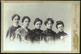 HÓDMEZŐVÁSÁRHELY  1900. Ca. Plohn : Hölgyek, Cabinet Fotó - Unclassified