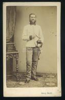 Wien 1863 . Adolf Backi  K.u.K. Tiszt , Visit Fotó - Old (before 1900)