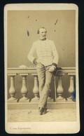 1863. Wien Báró Victor V. Salis-Seewis, , Visit Fotó , 26.  Infanterie-Regiment. - Old (before 1900)