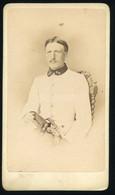 WIEN 1865. K.u.K. Tiszt ,  Follenius Főhadnagy, Visit Fotó - Old (before 1900)
