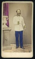 WIEN 1865. K.u.K. Tiszt ,  Champion De Crespigny, Albert. , Visit Fotó - Old (before 1900)