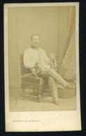 1865. Paris , Julius Zuna , Főtiszt ,  26.  Infanterie-Regiment. Visit Fotó - Old (before 1900)