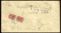 BUDAPEST 1945.05.12. Helyi Portózott Levél - Briefe U. Dokumente