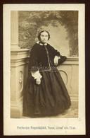 POZSONY 1863. Freyberger : Hölgy, Visit Fotó, Zuna Család - Unclassified