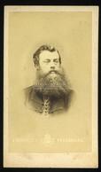 POZSONY 1860. Ca. Beniczky : Férfi, Visit Fotó - Unclassified