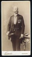 BUDAPEST 1885. Ca. Kozmata : Férfi , Kitüntetésekkel - Unclassified