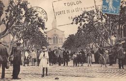 Toulon          83       Pont Du Las . Place Martin Bidouré      (voir Scan) - Toulon