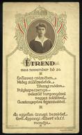 BUDAPEST 1928. Díszebéd Habsburg Ottó Tiszteletére, Menükártya - Unclassified