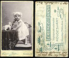KOLOZSVÁR 1900-10. Ferencz és Társa : Régi Visit Fotó - Unclassified