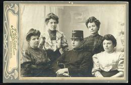 KARÁNSEBES 1910-15. Ca. Jerome : Család, Cabinet Fotó - Unclassified
