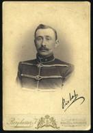 MUNKÁCS / BEREGSZÁSZ 1900. Ca. Berghamer : Ghyczy István Cabinet Fotó - Unclassified