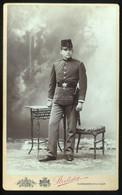 BUDAPEST 1903. Strelisky : Katona, Cabinet Fotó - Unclassified