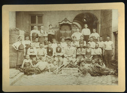 BUDAPEST 1898. Mahunka Imre Műbutor Gyára, Ritka  Fotó  26*19 Cm - Unclassified