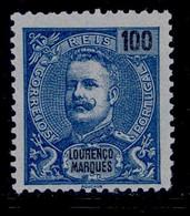 ! ! Lourenco Marques - 1898 King Carlos 100 R - Af. 41 - MNH - Lourenco Marques