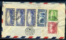 HAITI 1939. Légi Levél Budapestre Küldve - Haití